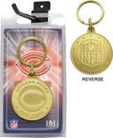 Football - Chicago Bears Bronze Bullion Keychain
