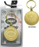 Football - New York Jets Bronze Bullion Keychain