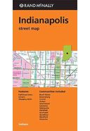 Rand McNally Indianapolis Street Map