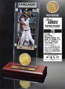 Baseball - Jose Abreu Ticket & Bronze Coin Desk