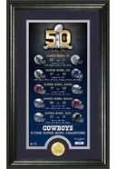 Football - Dallas Cowboys - Super Bowl 50th
