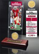 Football - Colin Kaepernick Ticket & Bronze Coin