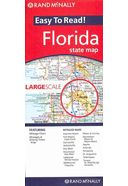Rand McNally Easy to Read Florida State Map