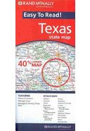 Rand McNally Easy to Read Texas State Map