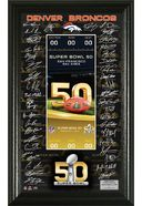 Football - Denver Broncos Super Bowl 50 Signature