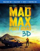 Mad Max: Fury Road 3D (Blu-ray + DVD)