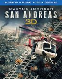San Andreas 3D (Blu-ray + DVD)