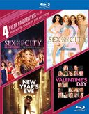 Romantic Comedy Collection: 4 Film Favorites (Sex and the City / Sex and the City 2 / New Year's Eve / Valentine's Day) (Blu-ray)