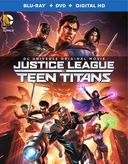 Justice League vs Teen Titans (Blu-ray + DVD)