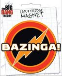 Big Bang Theory Die-Cut Bazinga Giant Magnet