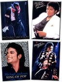 Michael Jackson - Set of 4 Magnets