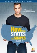 How the States Got Their Shapes - Season 2 (3-DVD)