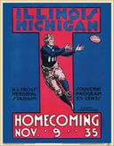 College Football - Illinois vs Michigan - 1935