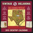 Oklahoma Sooners - Vintage 2015 Desktop Football