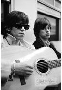 The Rolling Stones - Print: Mick Jagger and Keith