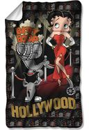 Betty Boop - Hollywood Nights Fleece Blanket