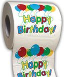 Birthday - Happy Birthday - Funny Toilet Paper