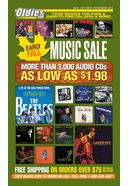 Early Fall Music Sale (October/November) [Catalog