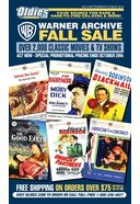 Warner Archive Fall Sale (September/October 2016)