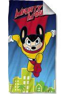 Mighty Mouse - City Watch Beach Towel