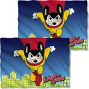 Mighty Mouse - City Watch (Front & Back) Pillow