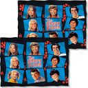 Brady Bunch - Squares (Front & Back) Pillow Case