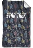 Star Trek - Enterprise Crew Fleece Blanket
