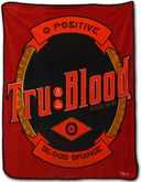 True Blood - Logo Micro Rashel Fleece Throw