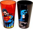 DC Comics - Superheroes - 2-Piece Pint Glass Set