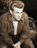 "James Dean - Cigarette - 11"" x 14"" Print"