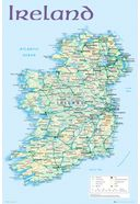 "Ireland - Map 2012 - 24"" x 36"" Poster"