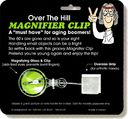 Over The Hill - Magnifier Clip