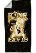Elvis Presley - The King - Beach Towel