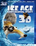 Ice Age: Continental Drift 3D (Blu-ray + DVD)