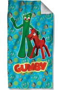 Gumby - Best Friends - Beach Towel