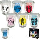 Pink Floyd - Shot Glases 6-Pack Set