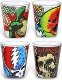 Grateful Dead - Shotglass 4-Pack
