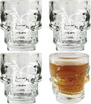 Skull - 4 Piece 3D Shot Glass Set