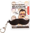 Mustache - Talking Keychain