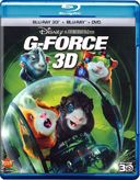 G-Force 3D (Blu-ray + DVD + Blu-ray 3D)