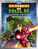 Iron Man & Hulk: Heroes United (Blu-ray + DVD)