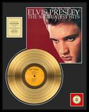 "Elvis Presley - 50 Greatest Hits - Framed 18"" x"