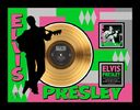 Elvis Presley - Debut Album - Framed 24k Gold LP