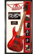 Aerosmith - Red Signed Guitar