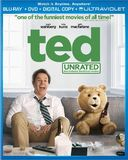 Ted (Blu-ray, Unrated, Includes Digital Copy,