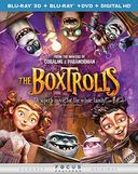 The Boxtrolls 3D (Blu-ray + DVD)