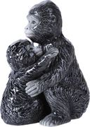 Gorilla & Baby - Magnetized Ceramic Salt & Pepper
