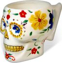 Day of the Dead - Skull - 12 oz. White Mug