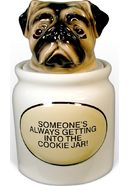 Puppy - Pug - Cookie Jar