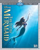 The Little Mermaid 3D (Blu-ray + DVD + Digital